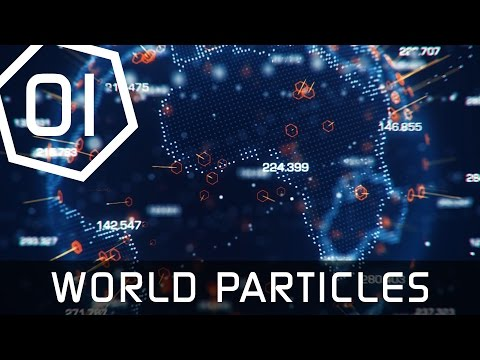 Earth Hologram Tutorial Part 1 - World Map Particles - Cinema 4D