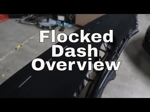Widebody 944 Project - Part 7: Dash Flocking