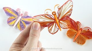 papillon en quilling tuto avec gabarit a imprimer