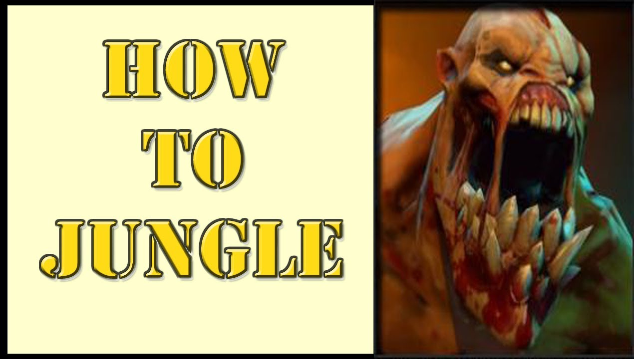 DOTA 2  How To  Jungle Basics Pulls with Naix  YouTube