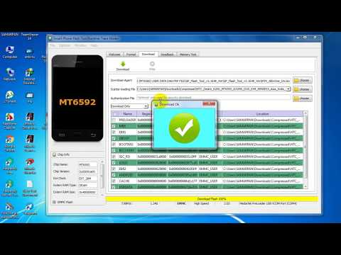 HTC Desire 620G Flash Done by Sp Flash Tools | HTC Desire