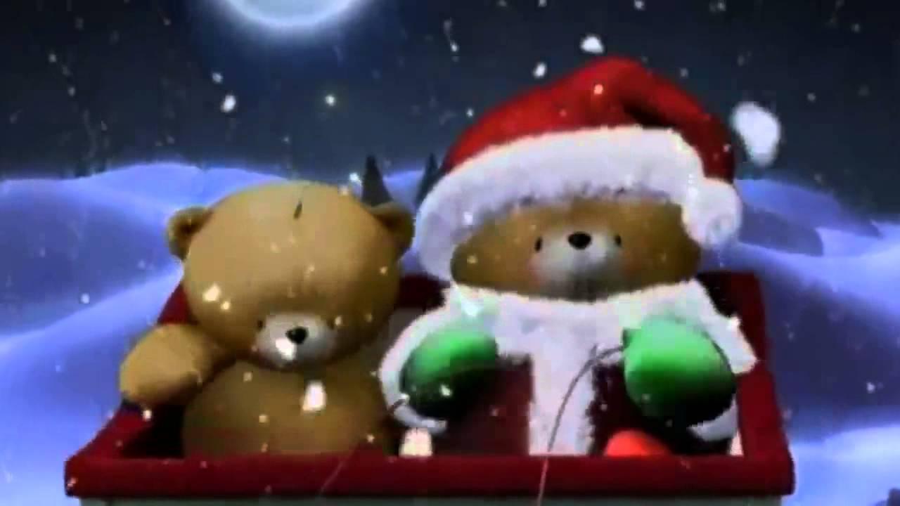 Frohe Weihnachten überall.Fröhliche Weihnacht überall Bärchenhaus
