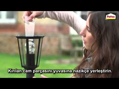 Kırık bahçe lambası nasıl tamir edilir