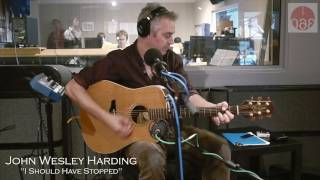 "Studio 360: John Wesley Harding Performs ""I Should Have Stopped"""