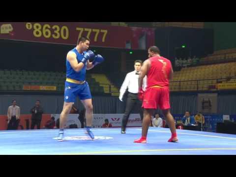 Sanshou Sanda 2016 World Cup Semi Finals Egypt vs Kazakhstan 90+ Kg Men