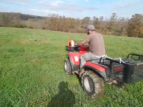 Electric Fence Pasture Automatic Winder Youtube