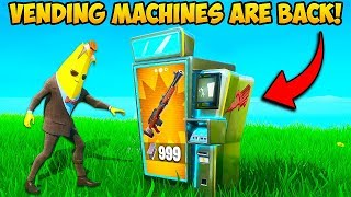 *NEW* VENDING MACHINES ARE BACK!! - Fortnite Funny Fails and WTF Moments! #833