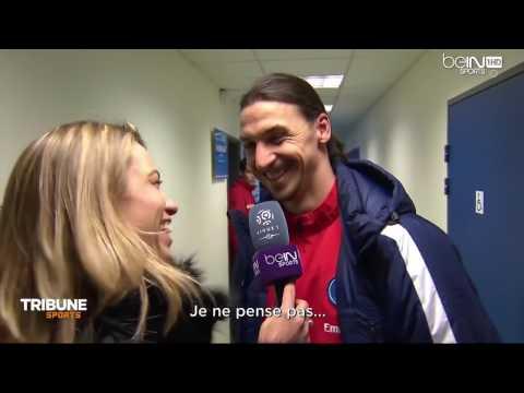 Interview De Zlatan Ibrahimovic Aprés Le Match De PSG