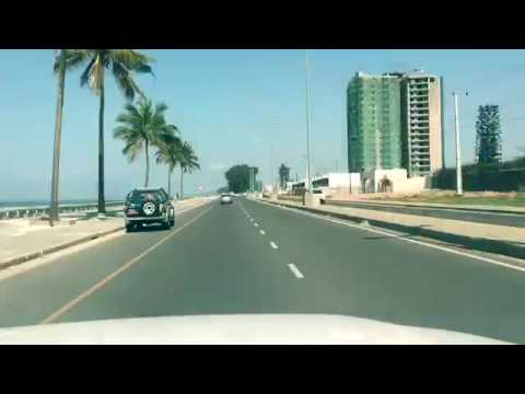 Maputo Marginal Road - Mozambique