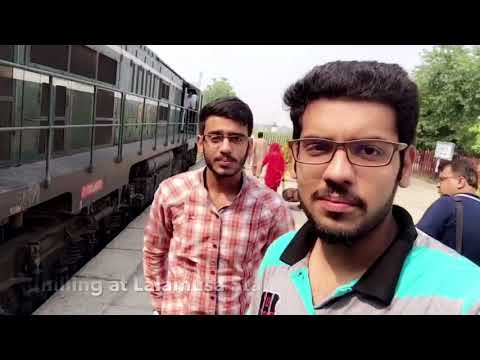 "The Journey ""Lahore to Rawalpindi"" by Train."