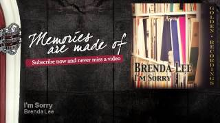 Brenda Lee - Im Sorry - Memories Are Made Of YouTube Videos