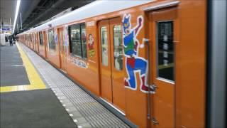 東武スカイツリーライン 東武特急スノーパル23:55 発車 新越谷にて