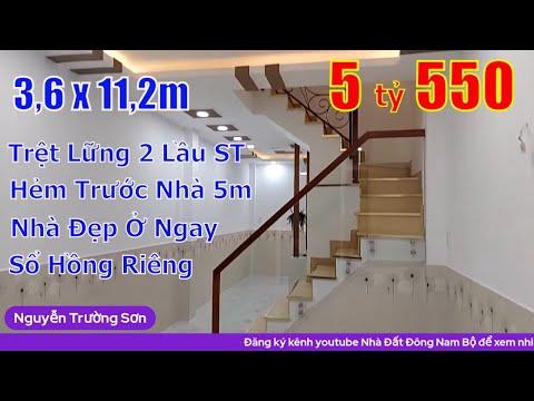 Chính chủ Bán nhà Quận 8 mới đẹp 3,6x11,2m trệt lửng 2 lầu sân thượng
