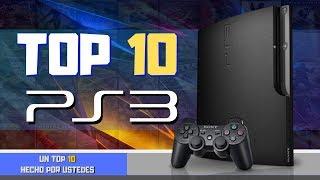 TOP 10 | Los mejores juegos EXCLUSIVOS de la PS3 | Elegidos por la comunidad