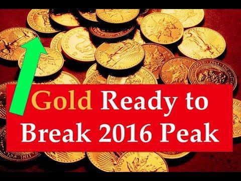 Gold & Silver Price Update - April 11, 2018 + Gold to Break 2016 Peak