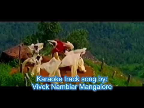 Kannada Songs | Nooru Janmaku | Vivek Nambiar Mangalore | Karaoke Track Song Recorded