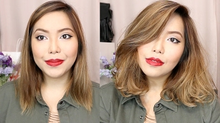HOW I STYLE MY SHORT HAIR | Hair Tutorial - saytioco