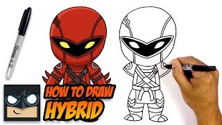 How to Draw Fortnite | Hybrid | Step-by-Step