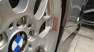 휠 스티커 부착 / 휠만큼은 정품 BBS / 2005 …
