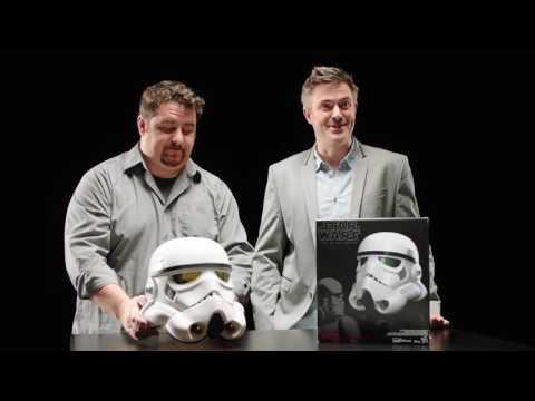 Star Wars - Stormtrooper Helmet Replica - Video