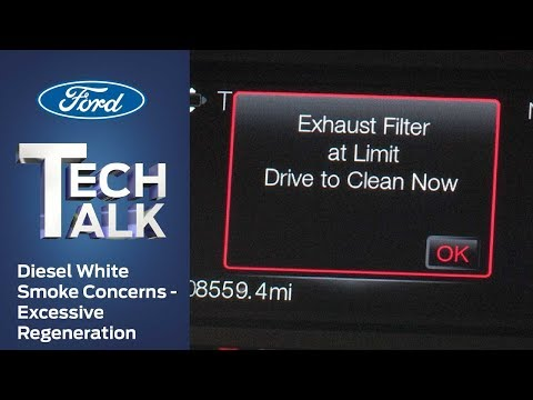 Ford Diesel White Smoke Concerns – Excessive Regeneration | Ford Tech Talk