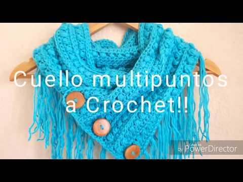 Cuello//Bufanda Circular a Crochet!!