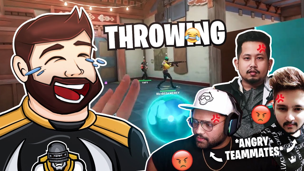 MOST PROFESSIONAL THROWER EXPOSES 8bit AKSHU 😂 | *TEAMMATES ANGRY* | Funny Highlights
