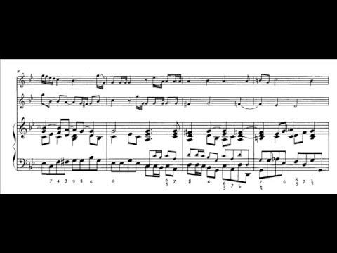 Albinoni, Trio Sonata op. 1 n. 12 in Si bemolle (score)