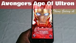 Samsung Galaxy S6/S6 Edge Avengers Iron Man Theme