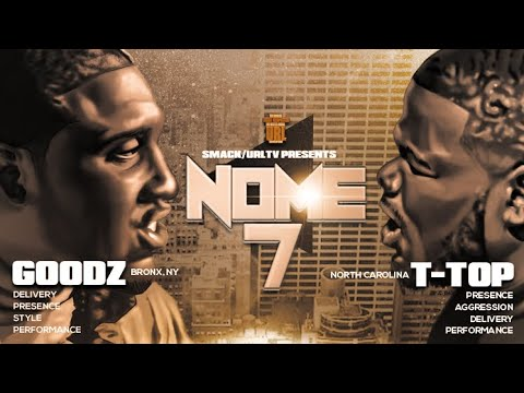 GOODZ VS T-TOP SMACK/ URL RAP BATTLE