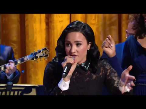 "Demi Lovato,  Andra Day, Yolanda Adams & Brittany Howard sing ""Heaven Help Us All"" 2016  HD HQ 1080p"