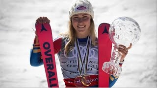 A Day in the Life of Mikaela Shiffrin American World Cup Alpine Ski Racer on Mammoth Mountain