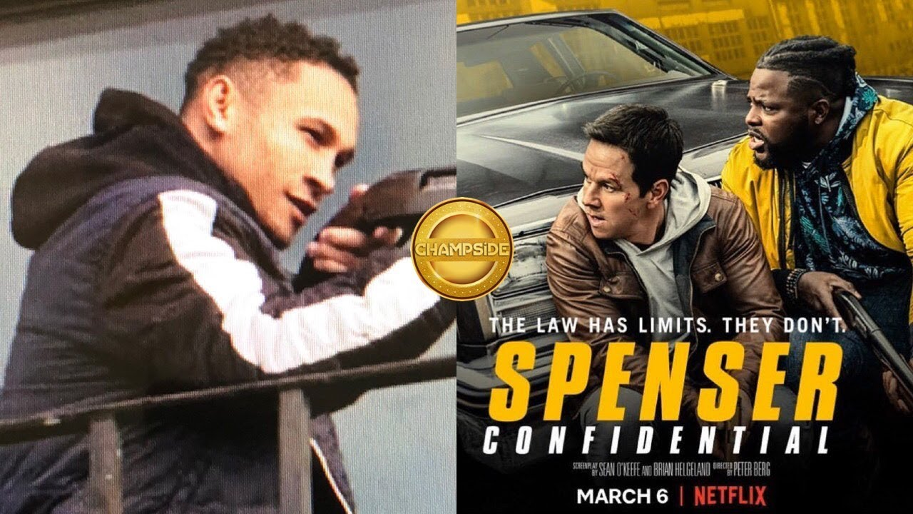 Netflix Spenser Confidential Movie Stars Boxer Regis Rougarou Prograis Youtube