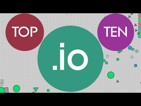 Top Ten IO Games 2016