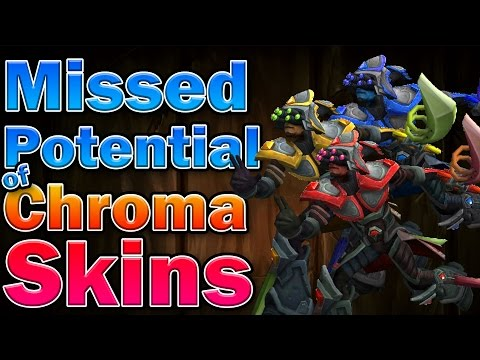 Missed Potential of Chroma Skins
