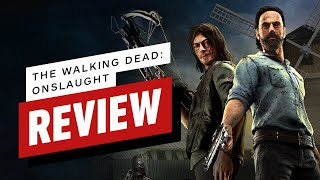 The Walking Dead: Onslaught Review (Video Game Video Review)