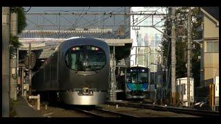 平日朝7時台の西武池袋線ひばりヶ丘駅(字幕入り)