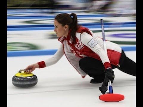 CURLING: Anna Sidorova - Skip - Team Russia (2012 European Curling Champions)