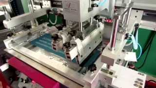 Flat Bed Screen Printing Machine Flat Screen Printer Plane Screen Printer