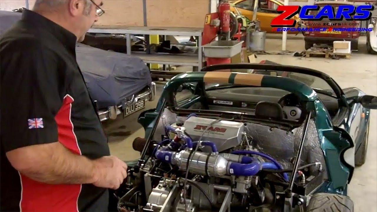 Lotus Elise With Hayabusa Turbo Engine By Zcars Youtube