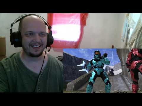 Blind Reactions:  Red vs. Blue Season 10, Episode 20-21