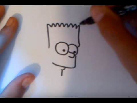 Dessiner bart simpson facilement youtube - Dessin de bart ...