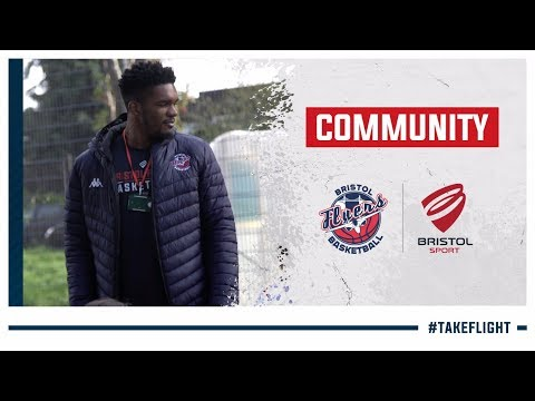 Community: Bristol Flyers visit Evergreen Primary School