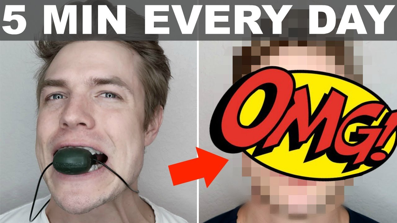 Jaw Exerciser for 7 days STRAIGHT Challenge! **RESULTS ARE SHOCKING**