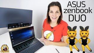 Asus Zenbook Duo -DOS PANTALLAS mejor que una-
