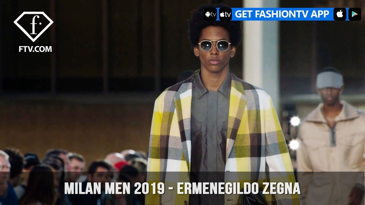 f4288dd1 Ermenegildo Zegna Weightlessness Milan Men Fashion Week Spring/Summer 2019  | FashionTV | FTV