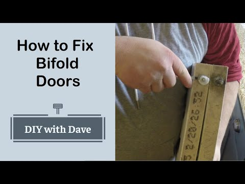 The Easiest way to Repair Broken Bifold closet Doors