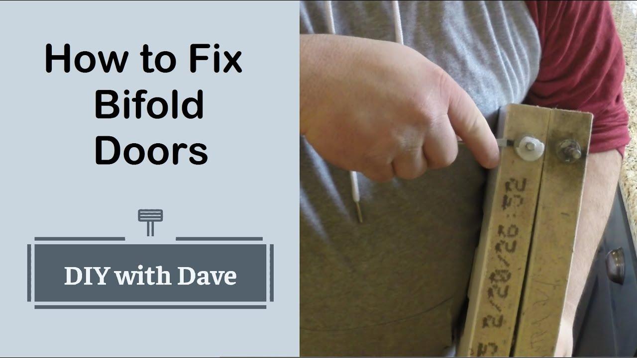 Download The Easiest way to Repair Broken Bifold closet Doors - Easy Home DIY Project
