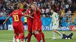 Belgien vs Japan: Die Tore