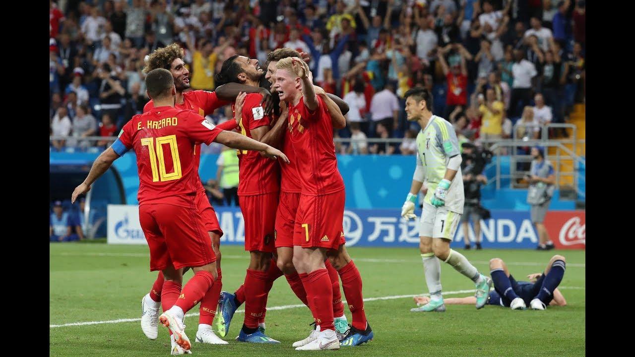 Belgien Japan Tore